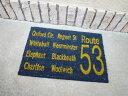 American door mats coconut mat ROUTE 53 (Navy) Coco mat / Matt Colyer Matt / outdoor entrance mat / garden Matt American gadgets American goods entrance