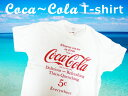 楽天ラヴィアンローズ アメリカン雑貨Coca-Cola コカコーラ プリントTシャツ ホワイト(CC-VT10-WH) ロゴT USA アメカジ 西海岸風 インテリア アメリカン雑貨