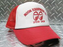 ショッピングインテリア ムーンアイズ(MOONEYES RD) スピード ショップ キャップ メッシュキャップ ベースボールキャップ 野球帽 帽子 アメリカ雑貨 ムーン 西海岸風 インテリア アメリカン雑貨