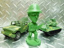 Setagaya-based soldier mini head bobbing and swinging Doll (pose) military army figure Interior