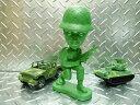 Setagaya-based soldier head bobbing and swinging Doll (pose) military army figure Interior