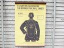 壁掛け(射撃 ライフル ターゲット) タペストリー 73cm おしゃれ壁掛け 西海岸風 インテリア アメリカン雑貨
