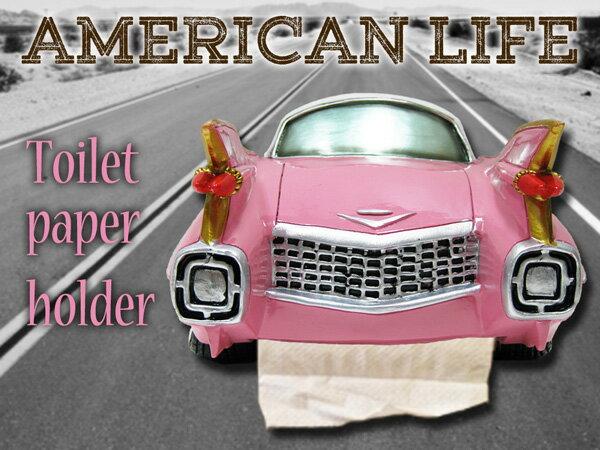 アメリカン トイレットペーパーホルダー(キャデラ...の商品画像