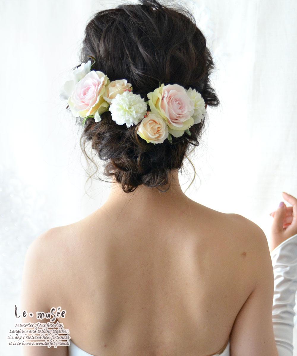 ヘッドドレス 花 ウェディング ニナ | 花嫁...の紹介画像2