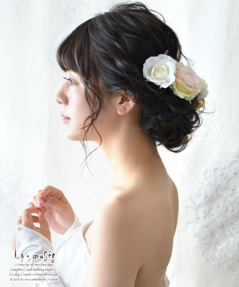 ヘッドドレス 花 ウェディング ニナ | 花嫁...の紹介画像3