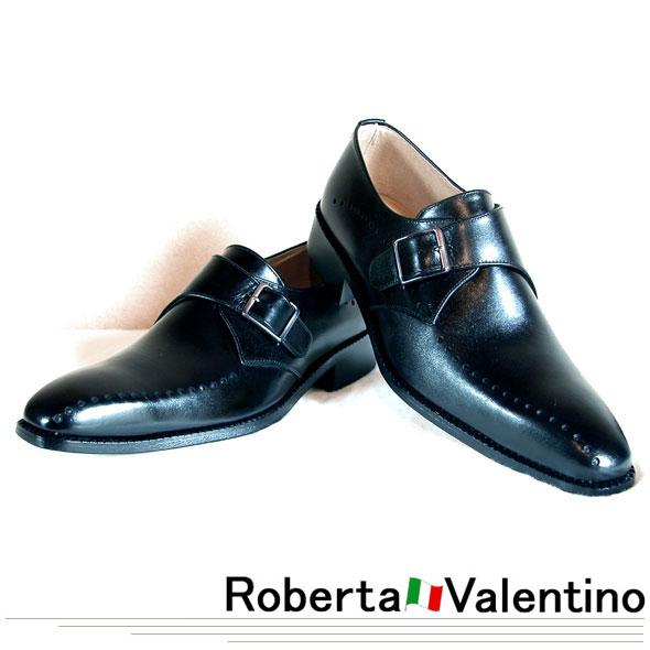 職人の技 夢のコラボレート企画 Roberta Valentino/ロベルタ・バレンティノ ハンドメイド ビジネスシューズ #299BK