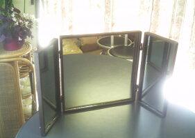 シンプル&レトロ■アイアンウォールミラー鏡■62×2×32cm