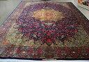 ◆ペルシャ絨毯◆294×194◆クム産◆RajabiyanFard