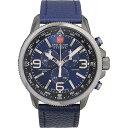 スイスミリタリー 腕時計 アロー メンズ ブルー/ブラック/...
