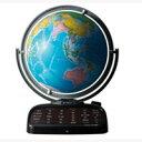 しゃべる地球儀 パーフェクト グローブ[PERFECT GLOBE]世界の情報を音声でおしゃべり 代引,送料無料25%OFF