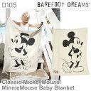 ベアフットドリームス/Barefoot dreams/Classic Mickey Mouse/Minnie Mouse Baby Blan