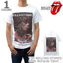 ザ・ローリングストーンズ/THE ROLLING STONES Keith Richards Tシャツ ロックT