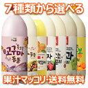 【送料無料】7種から 選べる 果汁 マッコリ 6本 韓国食品 お酒 マッコリ 果物マッコリ