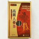 紙箱 高麗人参茶 100包 x 1箱 韓国特産品 健康食品 韓国 茶 お中元 ギフト お祝い 伝統茶 健康茶 コロナ ウイルス 対策 免疫 力アップ