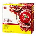 【送料無料】オットギ QUEENザクロ茶 ザクロ濃縮粉末(20包)*3箱 クイーン 韓国食品 韓国食材 お茶 伝統お茶 健康お茶