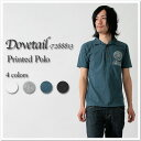 Dovetail - ダブテイル - ラフィ T-cloth print polo shirt ★★◇◇**