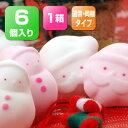 6個入り 通常・同梱タイプ 期間限定クリスマスセットサンタとゆきだるまのマシュマロ[fs01gm]【K1】【FoCou1214】【RCP】