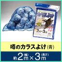 【SALE】【カラス対策・ゴミネット】 【噂のカラスよけ】 【2m×3m】 【青色(ブルー)】 ゴミ