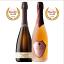 【2020サクラアワード受賞ワイン】ダブルゴールド受賞おすすめスパークリング2本セット スパークリング 750ml×2 イタリア・ヴェネト州産・ロンバルディア州産 直輸入 ジローレストラン