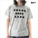 grn ジーアールエヌ スペースダイ刺繍Tシャツ メンズ M Lサイズ ホワイト グレー