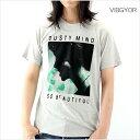 VIBGYOR ビブジョー Tシャツ メンズ DUSTY MIND M Lサイズ ホワイト ブラック