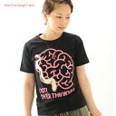 Tシャツ 半袖 プリント NOT! OVER THINKING! 【HN /SS】 限定Tシャツ メッセージTシャツ