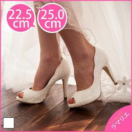 ウェディングシューズ・結婚式・披露宴・二次会・パーティーシューズ・花嫁・靴・厚底・ドレス・ウエディング・ブライダル・シューズ・ホワイト・レディース・ハイヒール