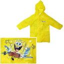 ◎【スポンジボブ/Sponge Bob】 お子様用 レインコート ジュニアサイズ カッパ 雨がっぱ 梅雨 アメリカン雑貨・アメリカ雑貨・アメ雑・ニコロデオン・nikelodeon