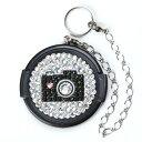 46mm/デコ レンズキャップ /Deco-lenscap/キラキラカメラ 【ネコポスOK/送料250円】