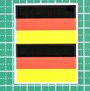 ドイツ国旗★フェイスシール【ワールドカップ(サッカー)】/1シート2枚組