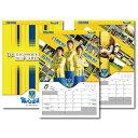 栃木SC オフィシャルカレンダー2017(約54×36.5cm) 10P25Aug17