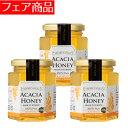 【s】Acacia Honey(アカシアはちみつ)250g 3個組 完熟生はちみつ 在庫処分 セール 0903