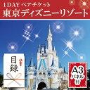 【送料無料・あす楽】二次会 景品 東京ディズニーリゾート1DAYパスポートぺアチケッ