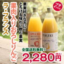 1000ml果物ジュース2本セレクトセットB(果肉入おろしり...