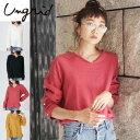 Ungrid(アングリッド)ウール混ビエラカットオフシャツ(111750483301)シャツ・ブラウス レディース カジュアル 送料無料