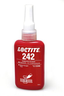 "Loctite ® 242 ""medium strength"" screw loosening materials [go]"