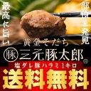 【新発売】[送料無料] 黄金そだち 三元豚太郎 塩ダレ豚ハラミ 1kg