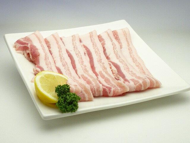 国産豚バラ スライス(500g)...:nikuru:10000091