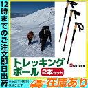 トレッキングポール 2本セット|65cm〜135cmまで伸縮可能 アンチショック機能 トレッキングステッキ 登山 ストック アルミ ステッキ /登山・トレッキング スティック