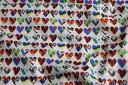 ショッピングHEARTS 【リバティプリント/LIBERTY】Marble Hearts 3636192-16CT