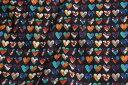 ショッピングHEARTS 【リバティプリント/LIBERTY】Marble Hearts 3636192-16DT