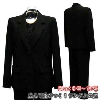 最好的黑三件套設置正式的西裝女士西裝褲子一個等級以上 ! ■