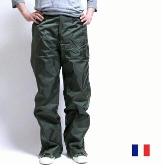 法國軍事雨褲下安裝束腰女另一個銷售 / 防水軍事死股票軍事 / 雨衣雨穿 Kappa 雨衣