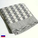 ロシア軍 ブロックチェック ブランケット マット / 新品 軍 ミリタリー デッドストック / 毛布 ラグ 絨毯 アウトドア