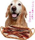 国産 鮭干し肉ハードロング【犬用おやつ】<あす楽対応>