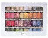 ブラザー 刺しゅう糸 ウルトラポス39色セット ETS39 [RS-BR041]