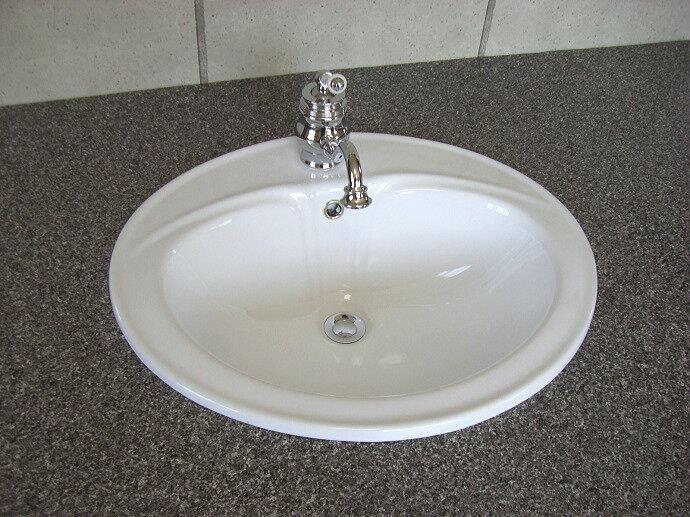 【送料無料♪】【WhityBowl陶器洗面器】ホワイティボウル009|シンプル洗面ボウル【P11Sep16】 【陶器洗面器】デザイン洗面ボール|洗面所用洗面ボウル【smtb-k】【kb】