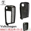 Volkswagen ゴルフ7 GOLF7 リモコンキーケース ブラッ