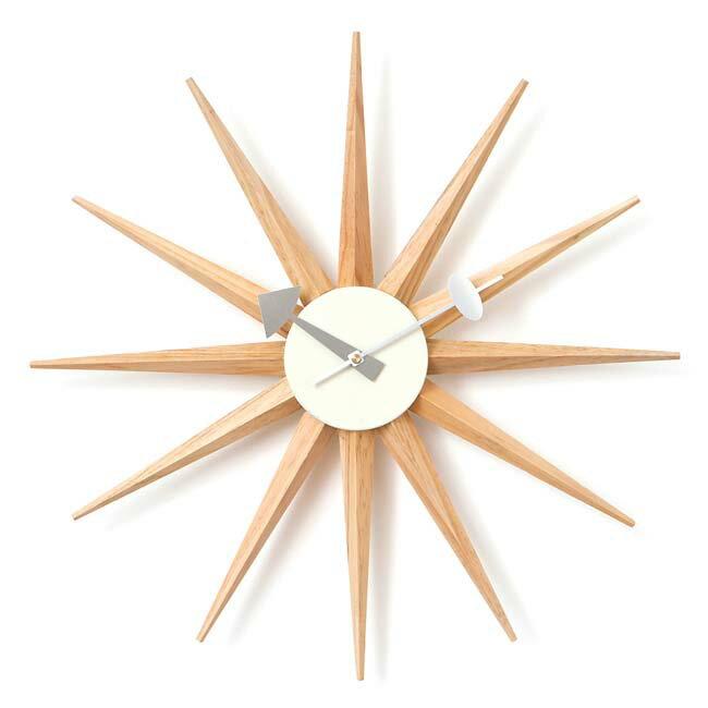 ジョージネルソン サンバーストクロック ネルソンクロック 掛け時計
