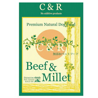 【C&R】ビーフ&ミレット(旧SGJビーフ&バーリー) 2.27kg